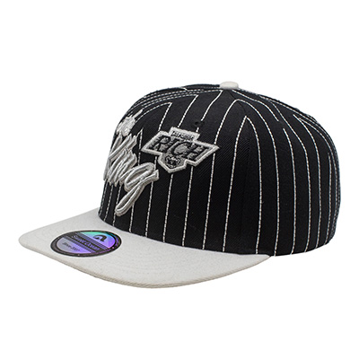 Customized Silver Embroidery Snapback Cap