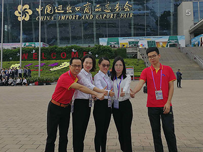 Sales Team at Canton Fair