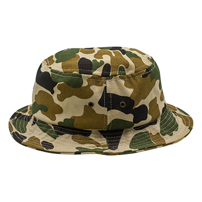 High Quality Cotton Camouflage Bucket Hat