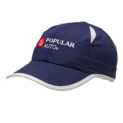 Polyester Fresh Sport Caps With Embro