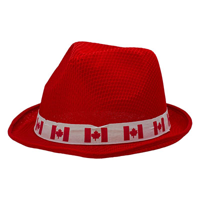 Custom Polyester <font color='red'>Fedora</font> <font color='red'>hat</font>s with Rib